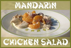 A sweet and tasty chicken salad