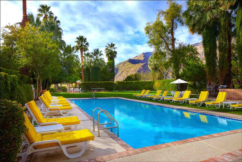 beautiful wedding locations in southern california%0A The Pool at the Ingleside Inn  Wedding Venue  Palm Springs California