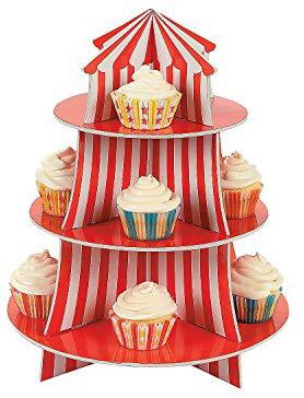 Fun Express Big Top Cupcake Holder Big Top Cupcake Cupcake Holder Circus Cupcakes