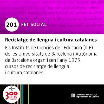 300 FETS DE LLENGUA :: Una mirada a la història del català :: gencat.cat/llengua/300fets/linia