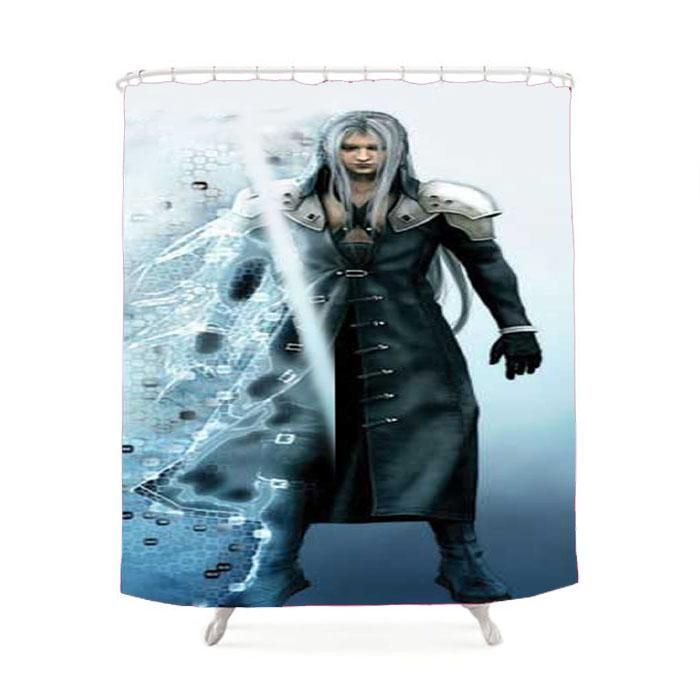 Final Fantasy Disintegrate Shower Curtain