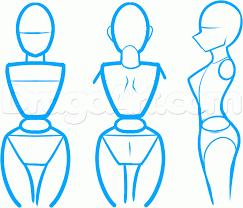 Resultado de imagem para how to draw mangá body