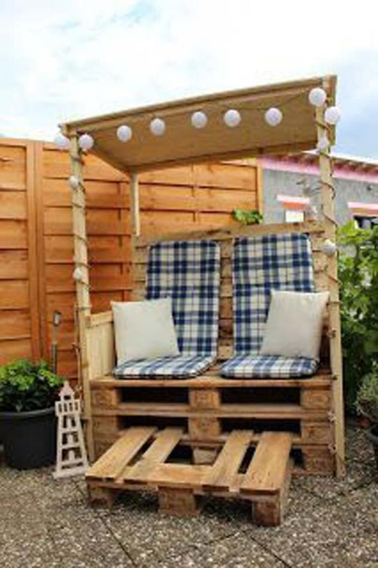 Amazing and Cute Upcycled Pallet Projects for Kids Outdoor