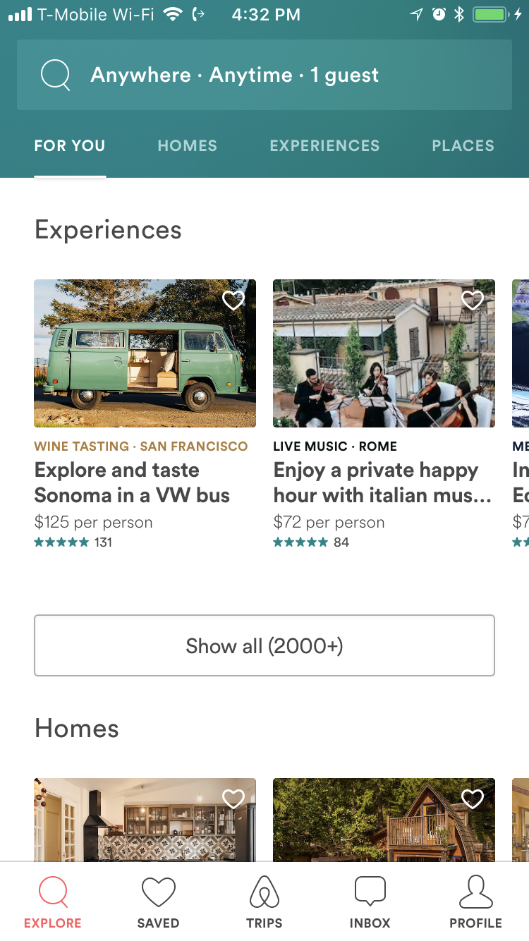 airbnb bottom nav (With images) Sonoma, Enjoyment
