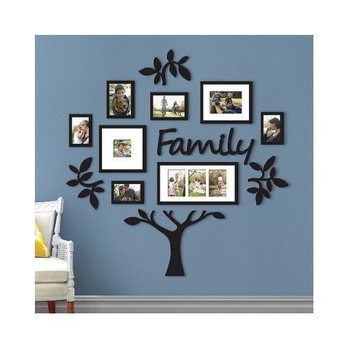 Family Tree Frame Collage Pictures Frames Multi Photo Mount Wall