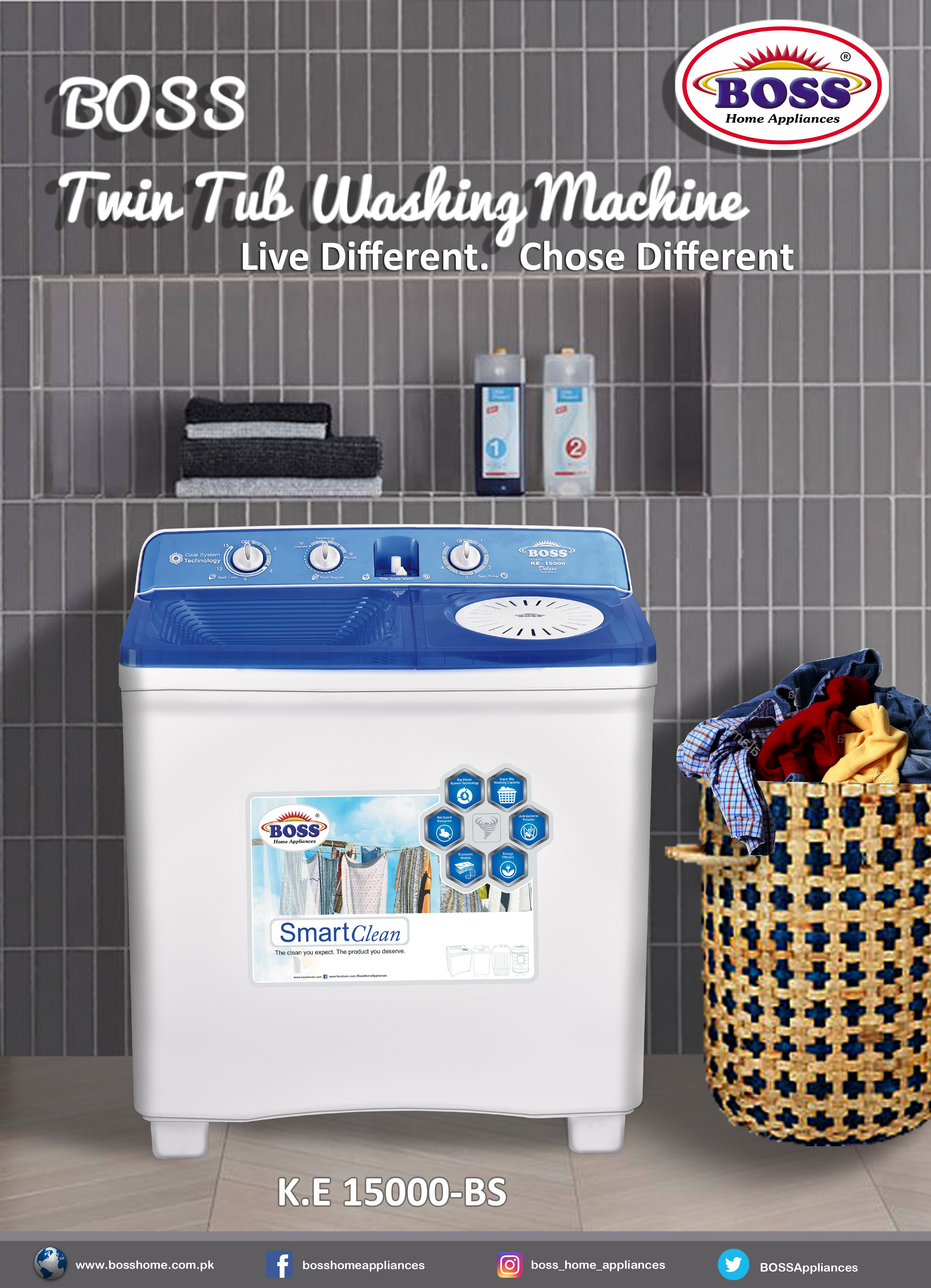 Pin By Boss Home Appliances On Products Home Appliances Twin Tub Washing Machine