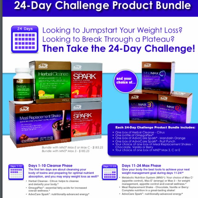 24 Day Challenge. Challenge yourself to be better than ...