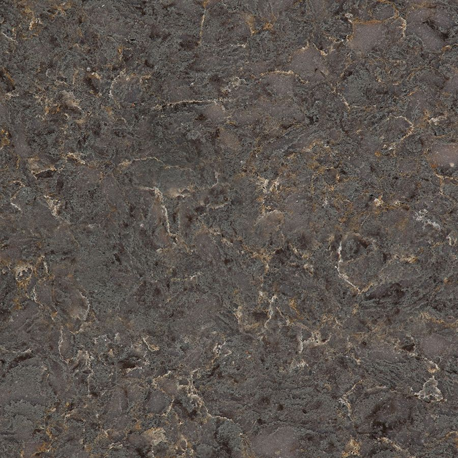 Shop Silestone Copper Mist Sample Quartz Kitchen Countertop Sample ...