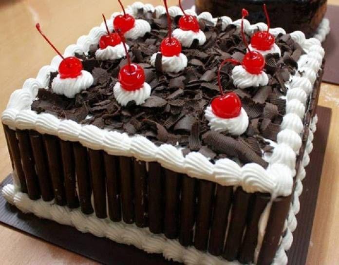 Resep Kue Ulang Tahun Kukus Black Forest cake Pinterest Black