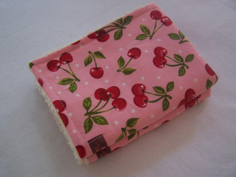 Burp Cloths-Set of 2 - So Very Cherry