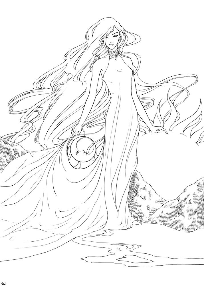 deviantART: More Like The Sea Witch by ~tikallyn | Dibujos ...