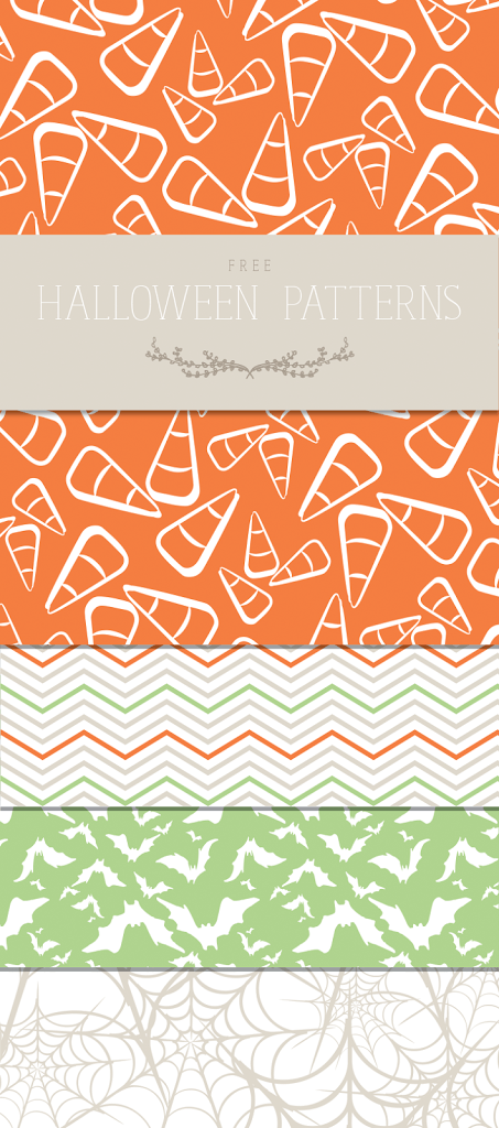 Free Halloween Patterns {Plus, PicMonkey Tutorial} - Designs By Miss Mandee