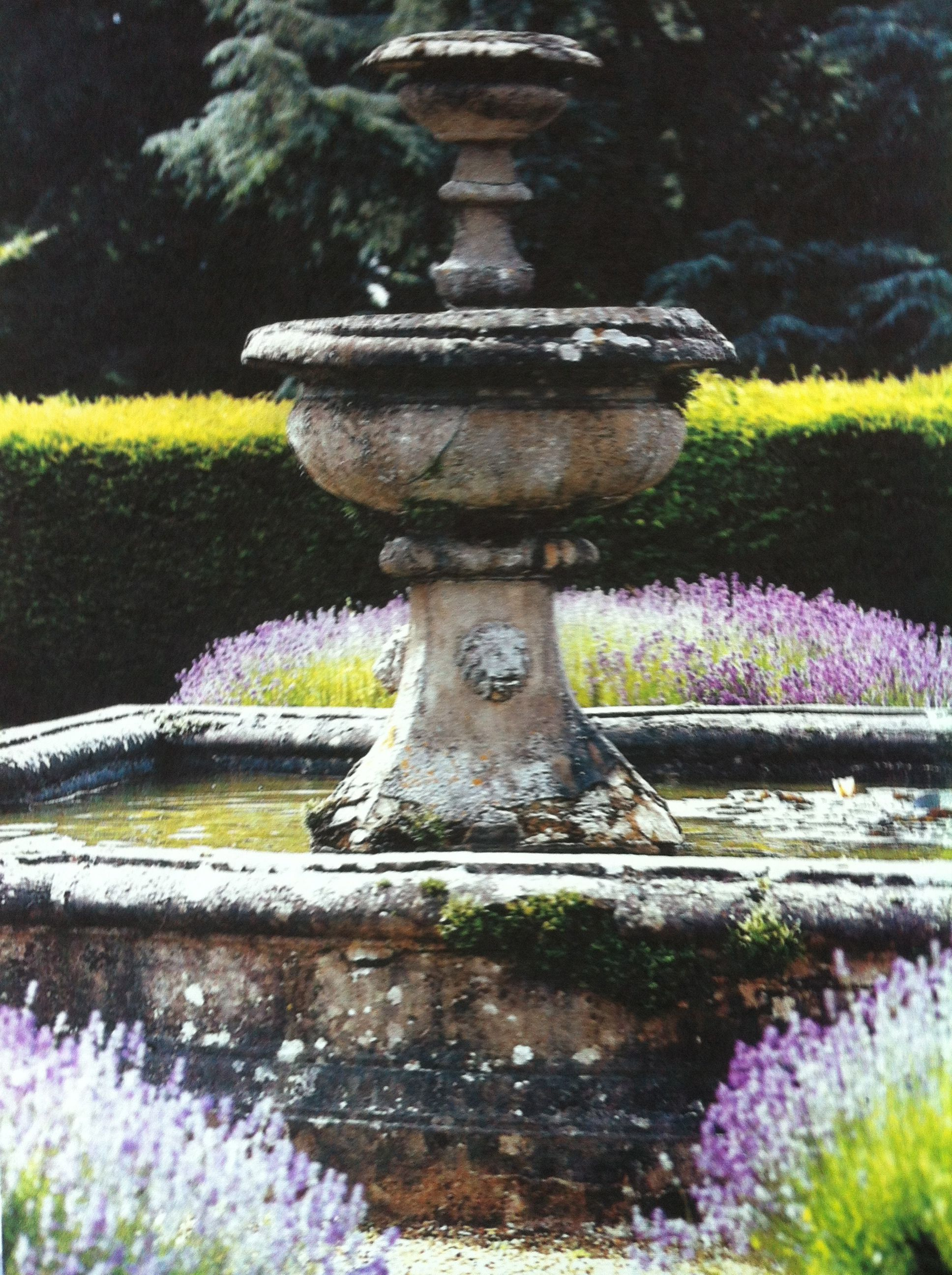 Old Stone Fountain Water Features In The Garden Garden