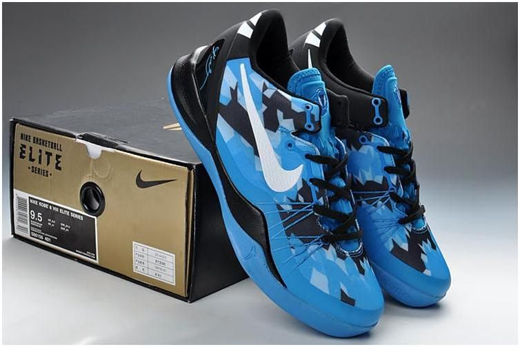 Cheap New Style Nike Kobe 8 PP Game Royal Blue Black Silver 6139