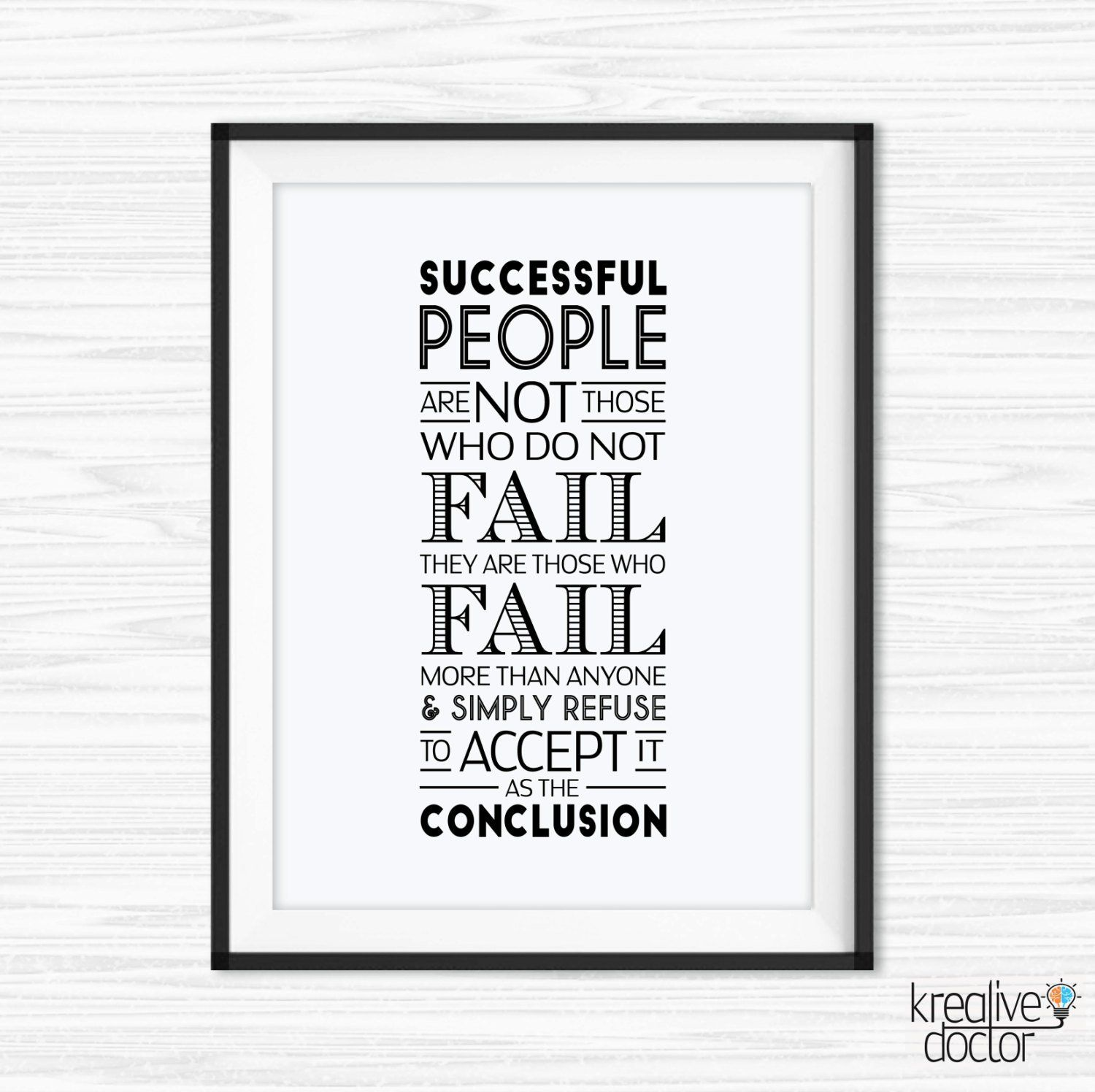 Office Wall Art Printable Office Quotes Success Quote  Etsy in