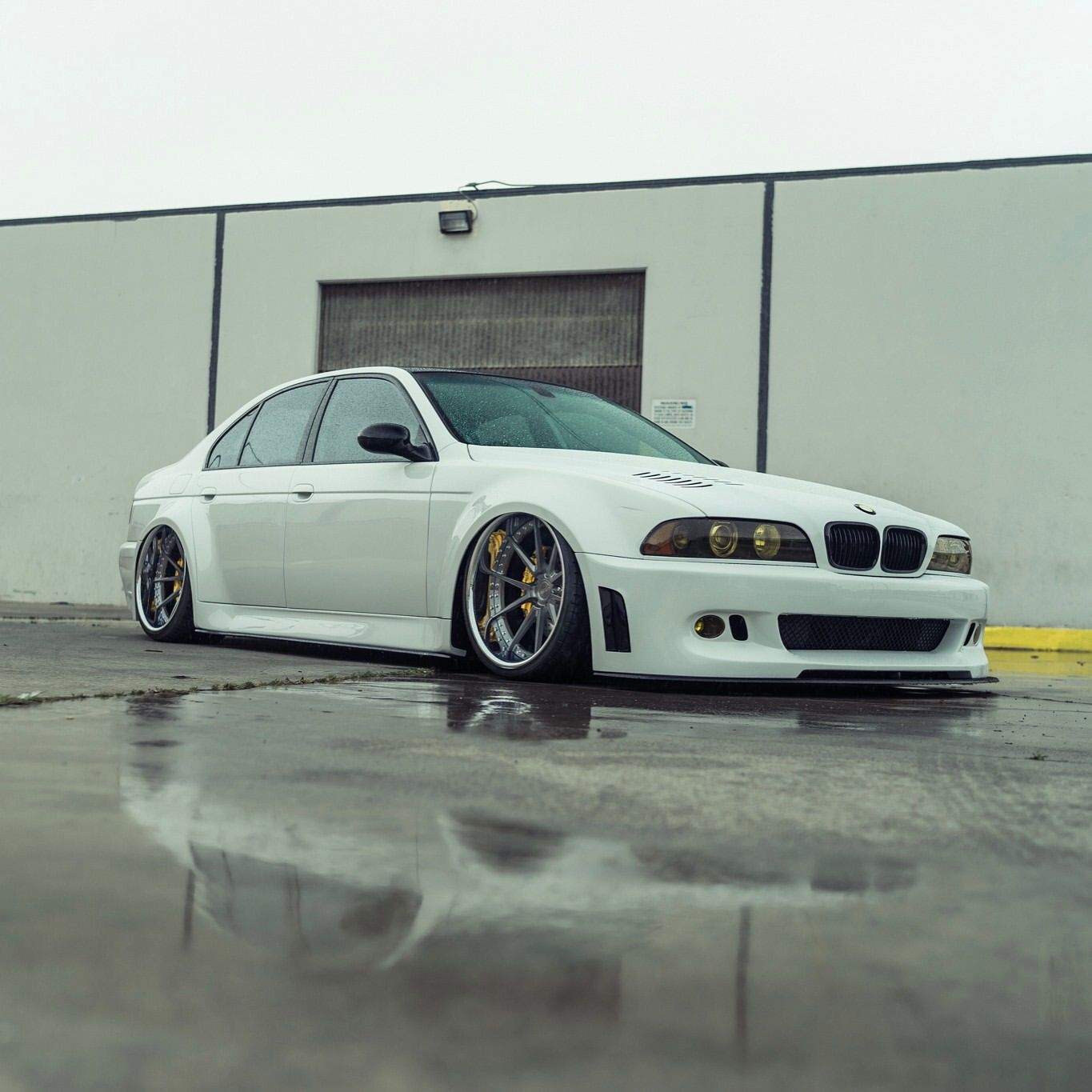 Bmw E39 M5 Slammed Modified Stance Rsv Forged Wheels Rs8m Rsf1