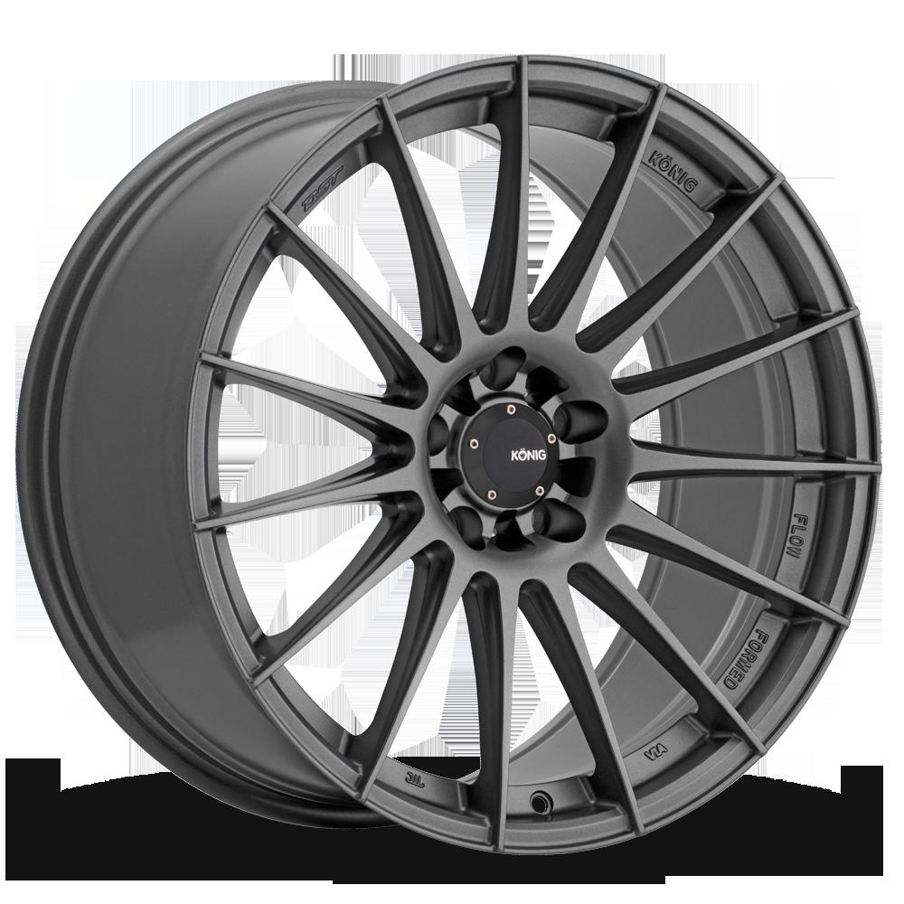 Konig Rennform 48MG Wheel 17x8 5x4.5 5x114.3 Grey 45mm