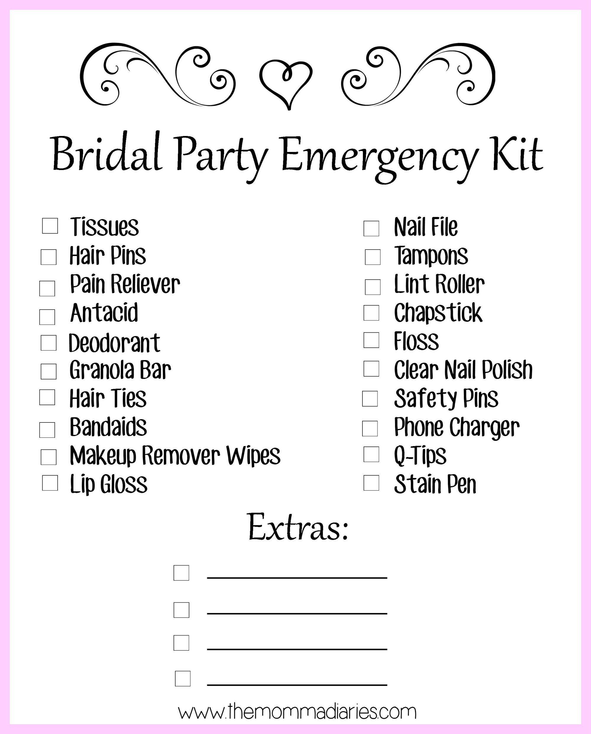 30++ Wedding day checklist for bridesmaid ideas in 2021