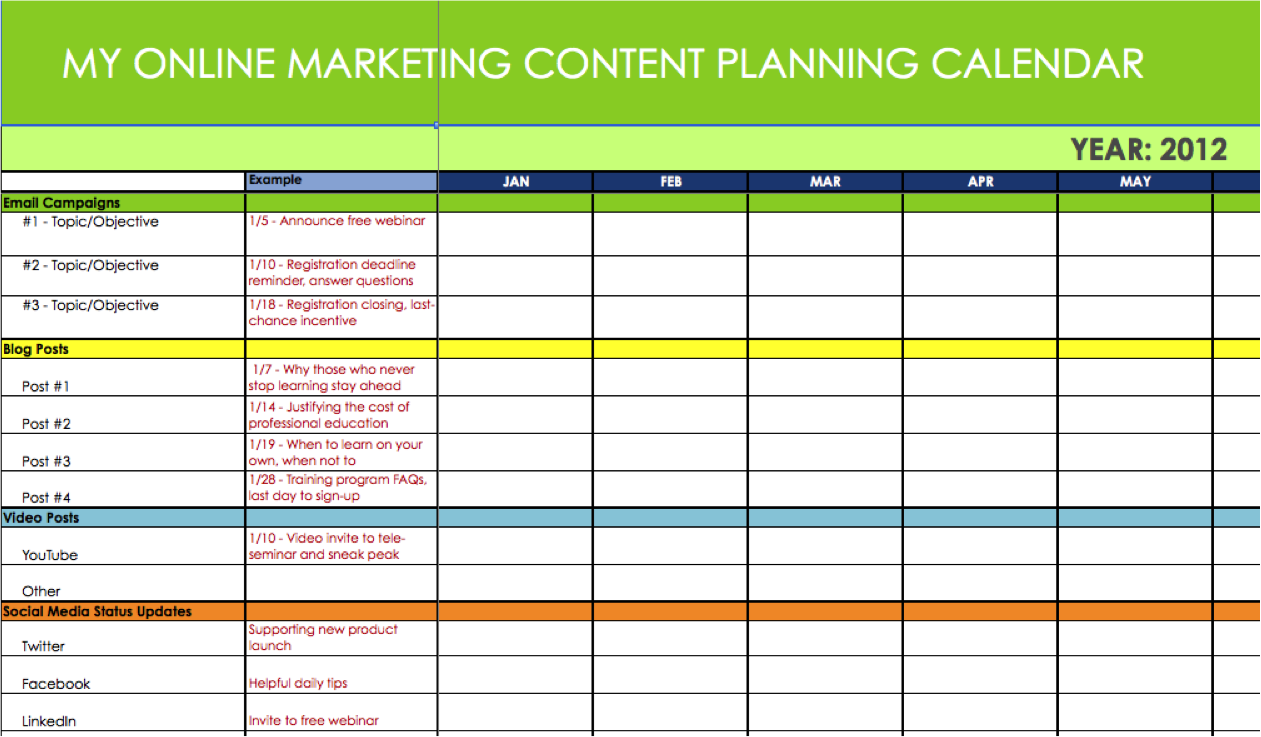 Calendar Planner Scheduling : Easy simple ways to create a winning pinterest