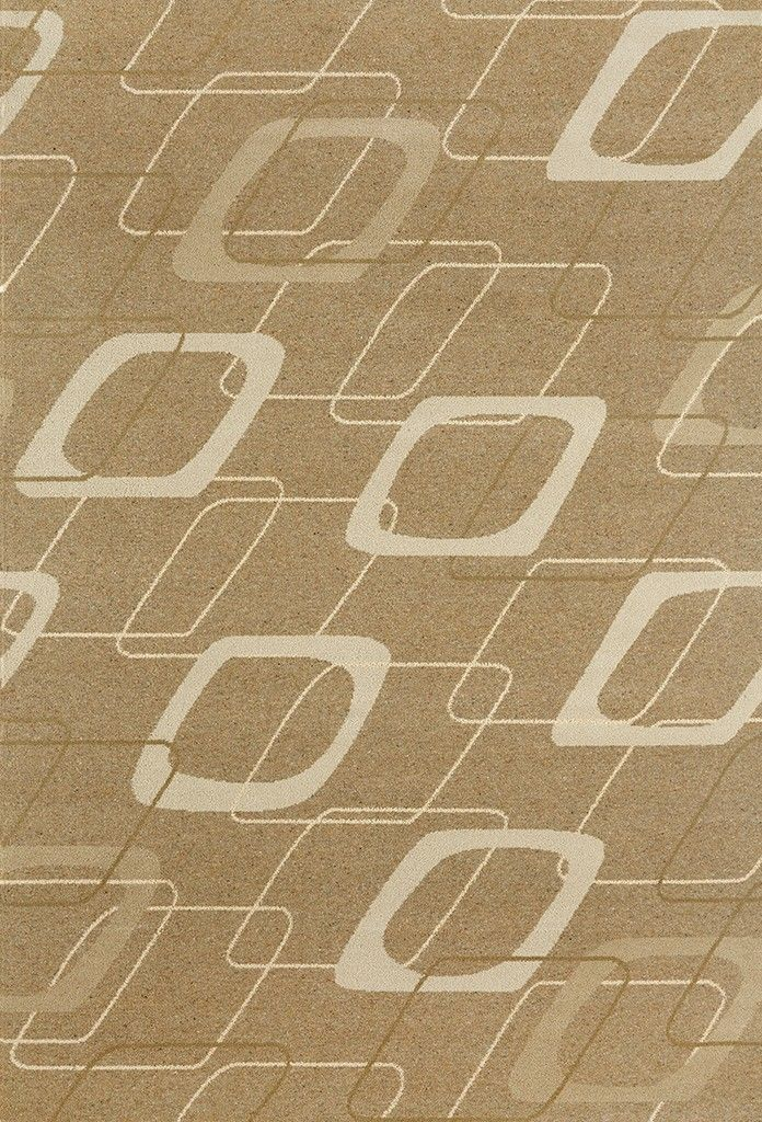 Gogglebox Natural rug, 1950's collection | Rugs By Brintons