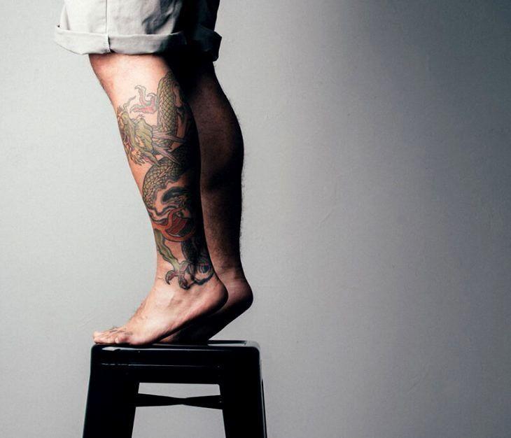 Badass Leg Tattoos Trick Badass Leg Tattoos Trick Check more at tattoosrpictures