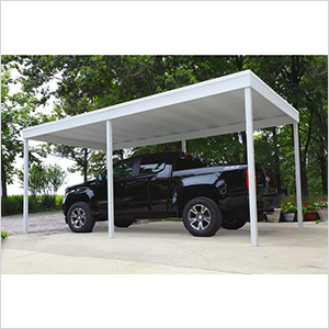 Arrow Cp1020 Freestanding Carport And Patio Cover Free Standing Carport Carport Patio Steel Carports