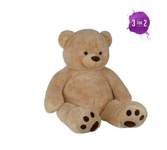 Buy Chad Valley Giant Brown Bear At Argos Co Uk Your Online Shop For Teddy Bears And Interactive Soft Toys Toys Teddy Bear Clearance Toys Soft Toy