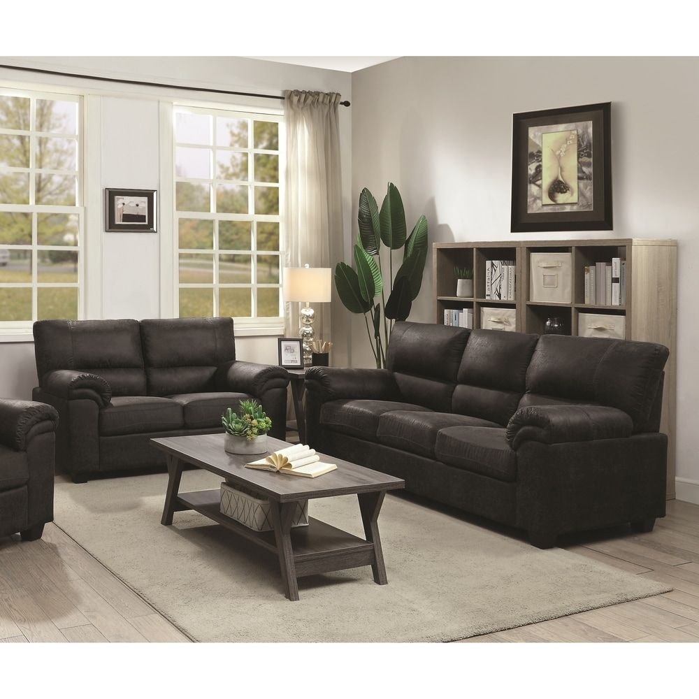 Overstock Com Online Shopping Bedding Furniture Electronics Jewelry Clothing More In 2020 Leather Couches Living Room Black Living Room Decor Black Sofa Living Room #two #piece #living #room #sets