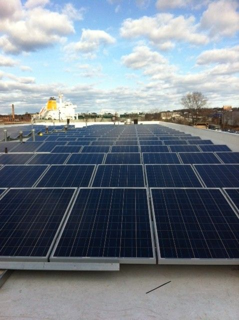 Hertz Martifer Solar Usa Installation Boston Ma Commercial Solar Home Interior Design Renovation Home Decor