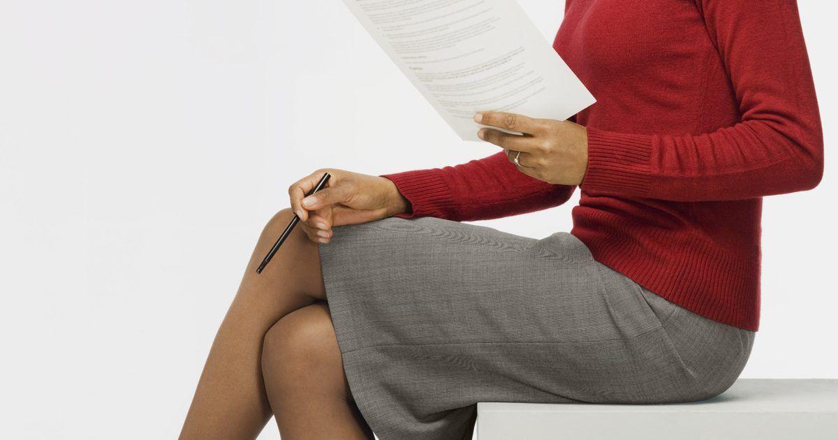 Cómo escribir un curriculum vitae para un puesto de supervisor | El ...