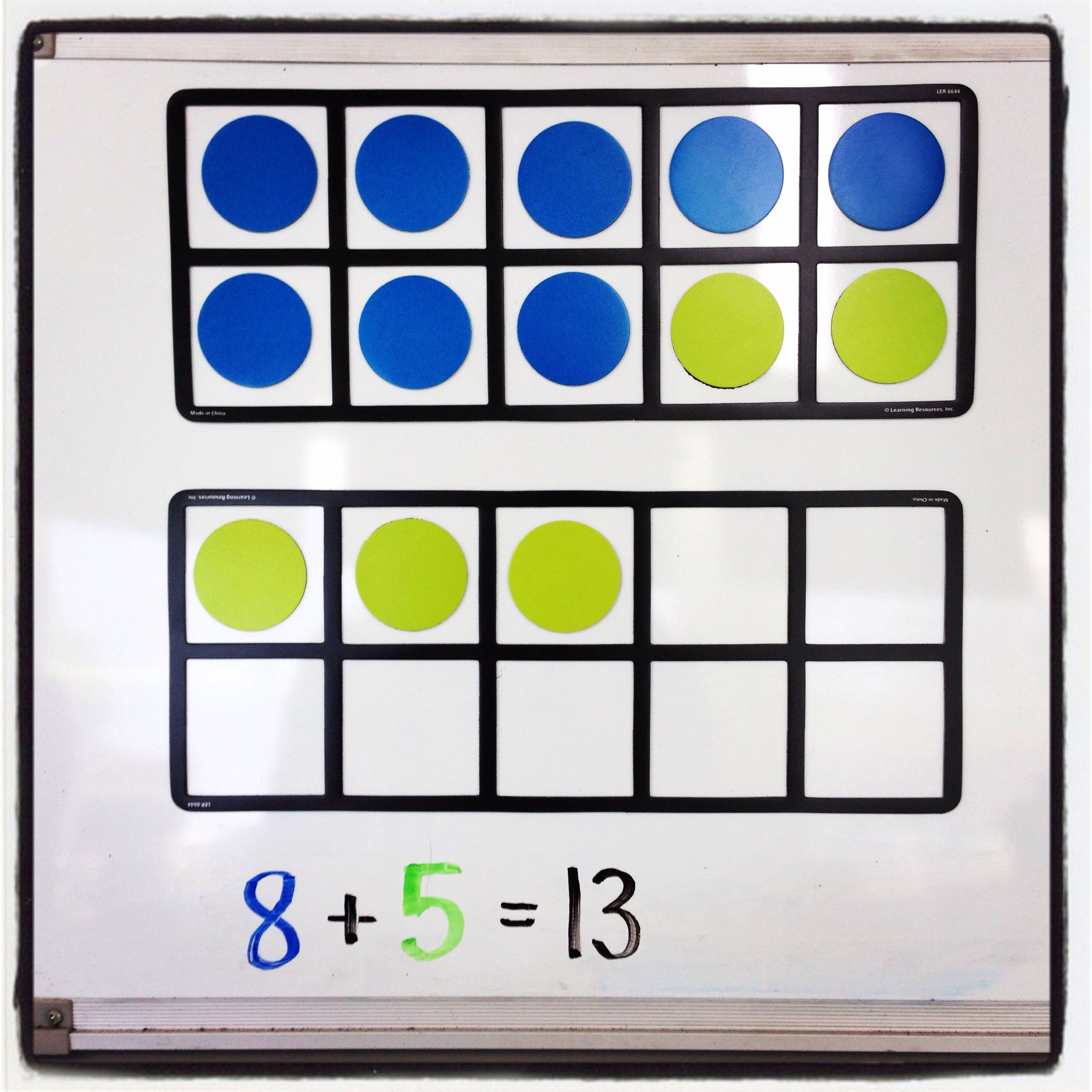 Magnetic Ten Frames My New Favorite Math Visual To