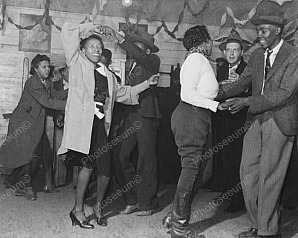 Black Couples Enjoy Juke Joint Dance! 8x10 Reprint Of Old Photo ...