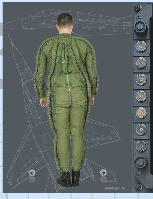 Soviet MIG High Pressure Suit, VKK-6M