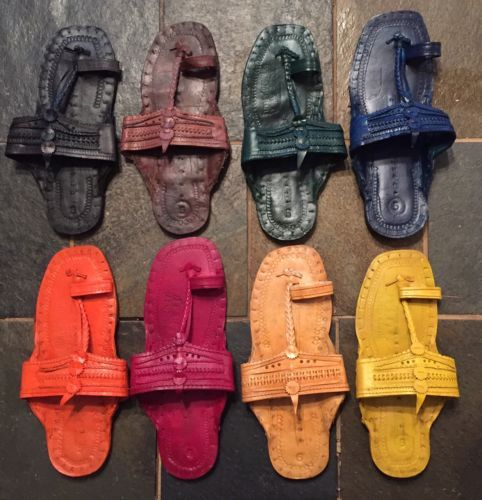 Details About Hippie Water Buffalo Toe Strap Jesus Sandals