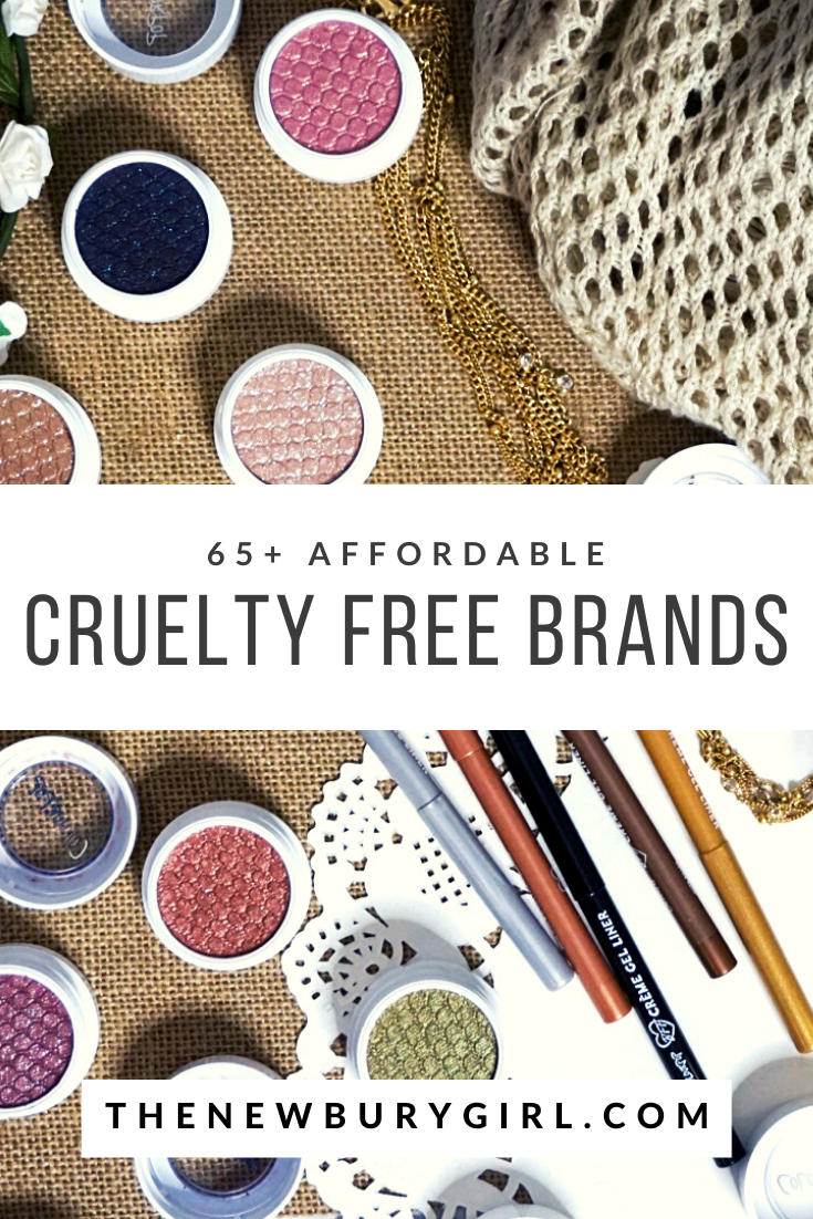 65+ Affordable Cruelty Free Makeup & Beauty Brands