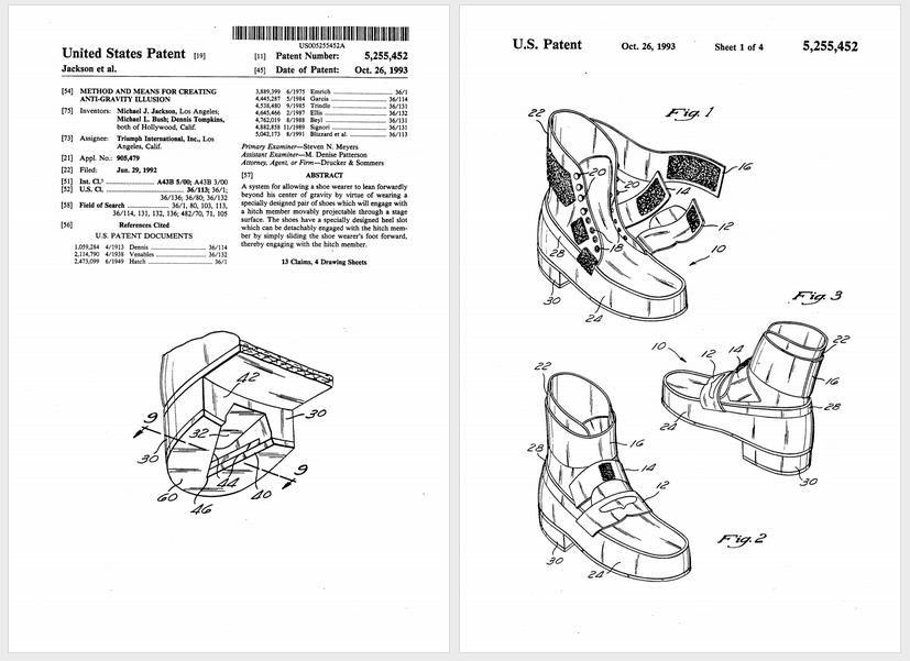 The Morning GIF Michael Jackson's patented antigravity