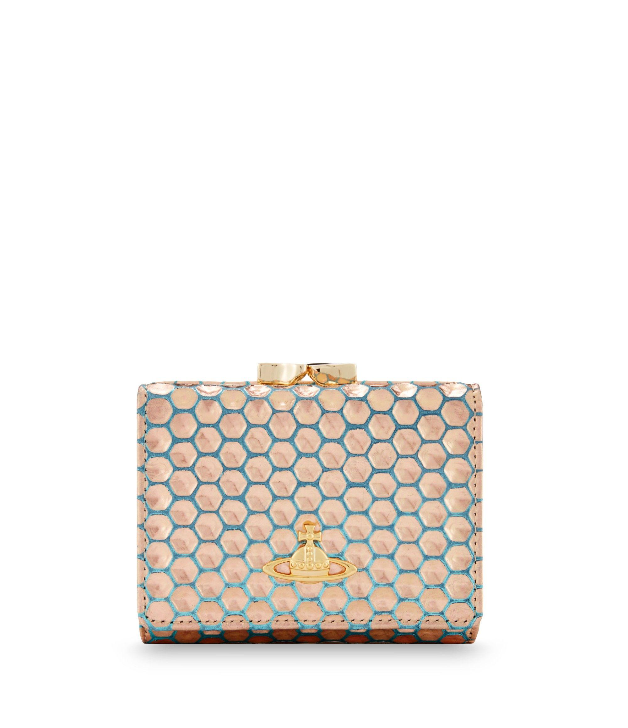 40c69c03ece Vivienne Westwood | Honey Comb Purse | unusual wallets and key ...