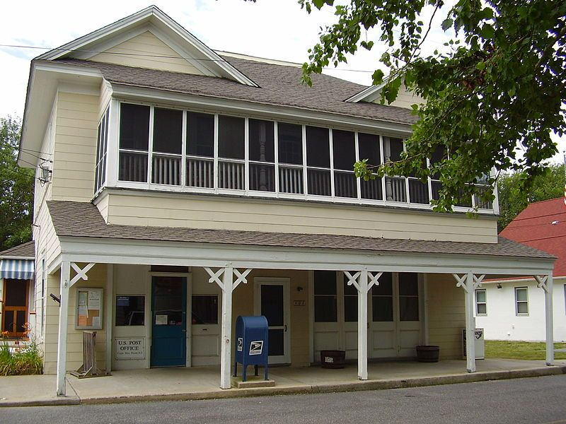 Cape May Point N J Post Office We Rented This Place For 25 Years Every July Cape May Cape May Point Vacation Days