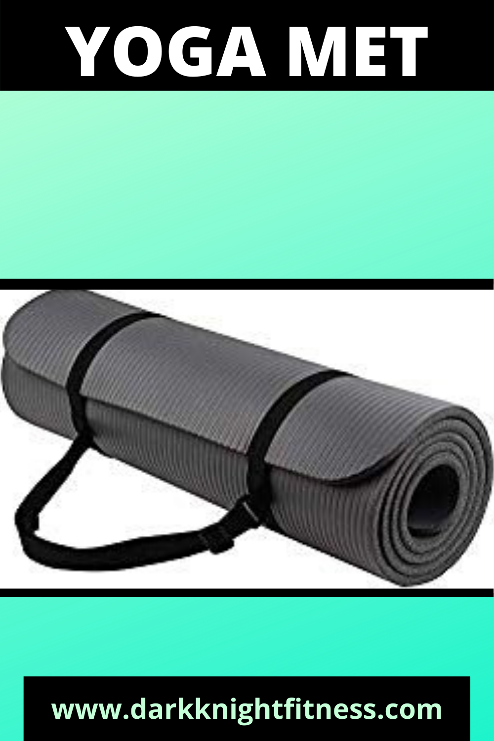 Balancefrom Goyoga All Purpose 1 2 Inch Extra Thick High Density Anti Tear Exercise Yoga Mat With Carrying Strap Yoga Fitness Injury Prevention Exercise