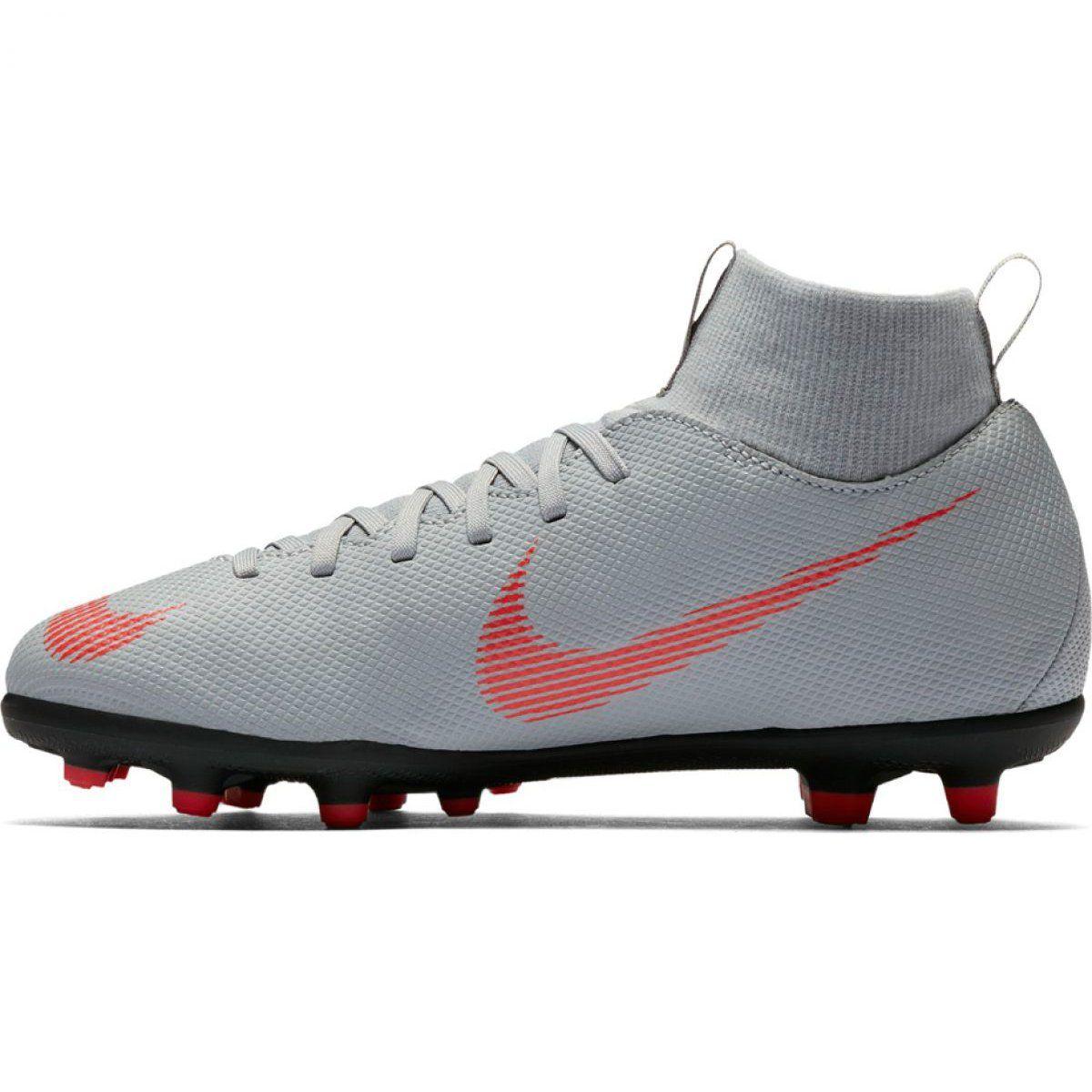 Football Shoes Nike Mercurial Superfly 6 Club Mg Jr Ah7339 060 White Football Shoes Nike Shoes Superfly
