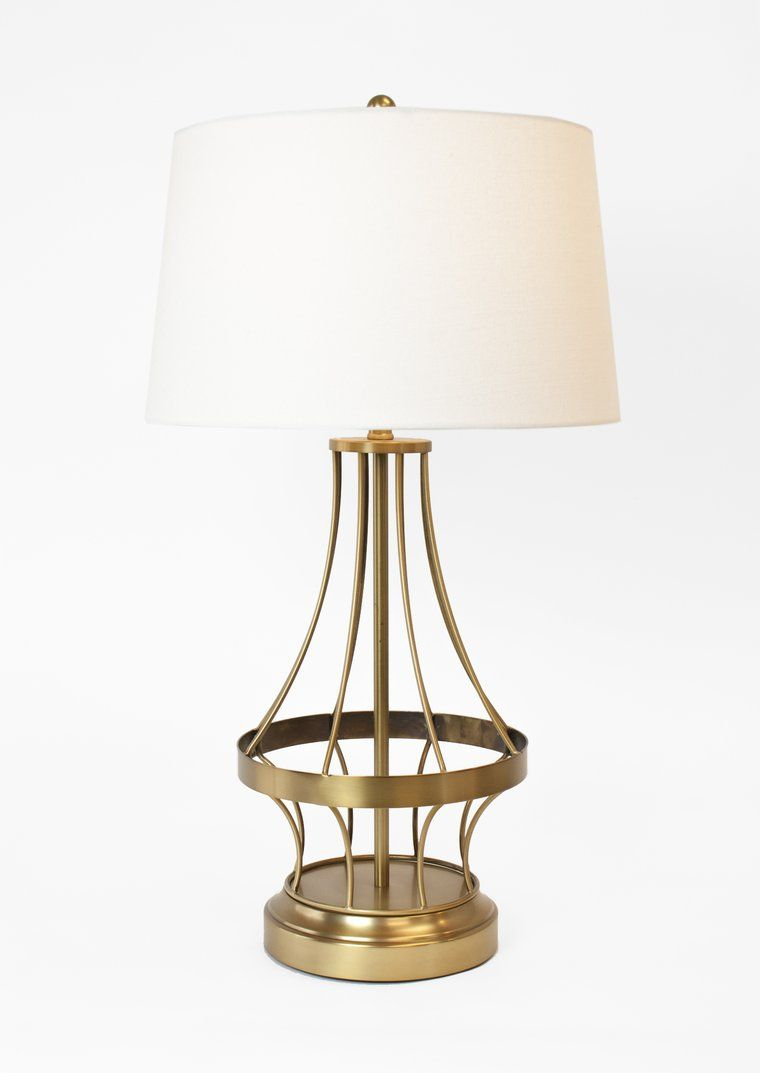 Wireframe Cordless Rechargeable Lamp Brass Cordless Lamps Lamp Floor Lamp