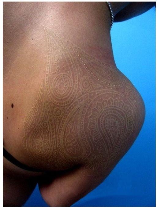 Tatouage Encre Blanche Tatuajes Pinterest Tinta Blanca