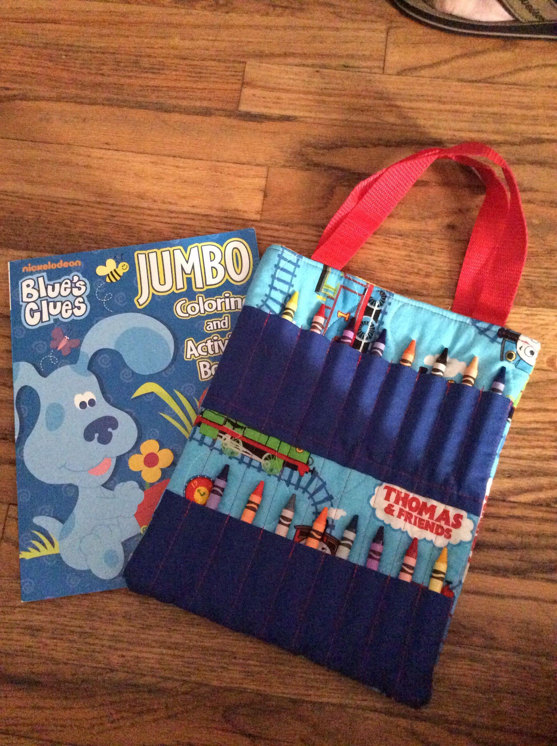 blues clues crayon bag selling items that i make pinterest