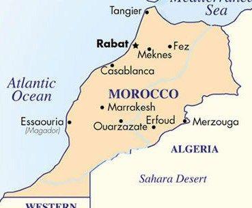 R is for… Rabat, Morocco | Wanderlust | Morocco map, Morocco