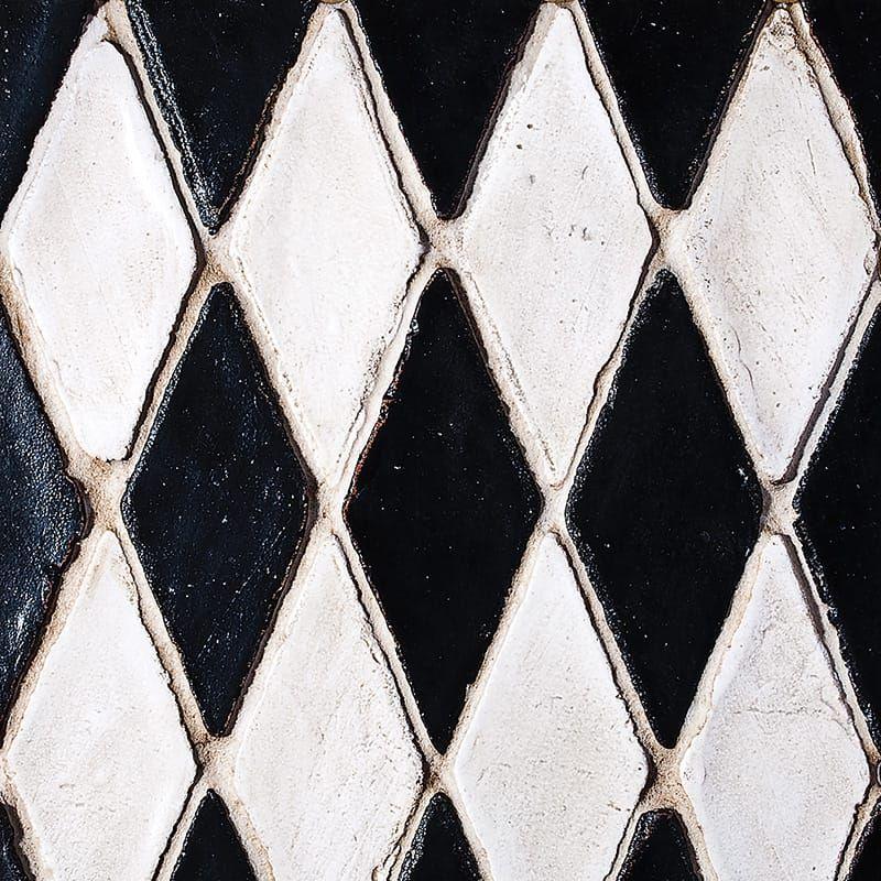 Rhombus Glazed Terracotta Mosaics 2x5 1 2 Mosaic Terracotta Glaze