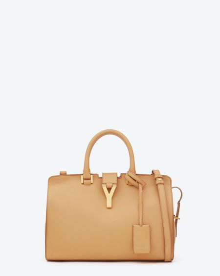 4fdd02835a Check out Petit Cabas Y Bag in Light Beige Leather at http://www