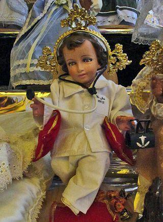 """8/"""" Baby Jesus figurine christmas Nino Dios Nativity NEW"""