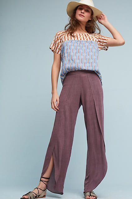 87a6c6cbf8c Drew Gauze Tulip Pants
