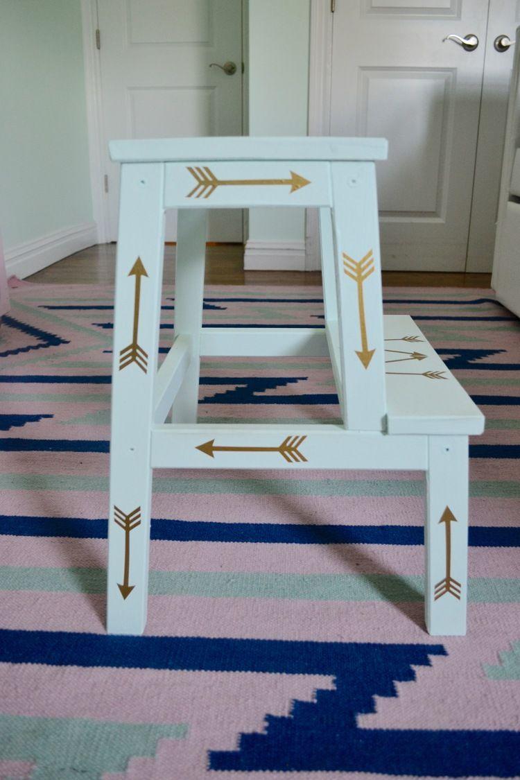 :: IKEA HACK :: Stepstool DIY ::