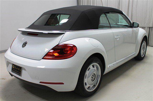 New 2015 Volkswagen Beetle Convertible Rear Nice View